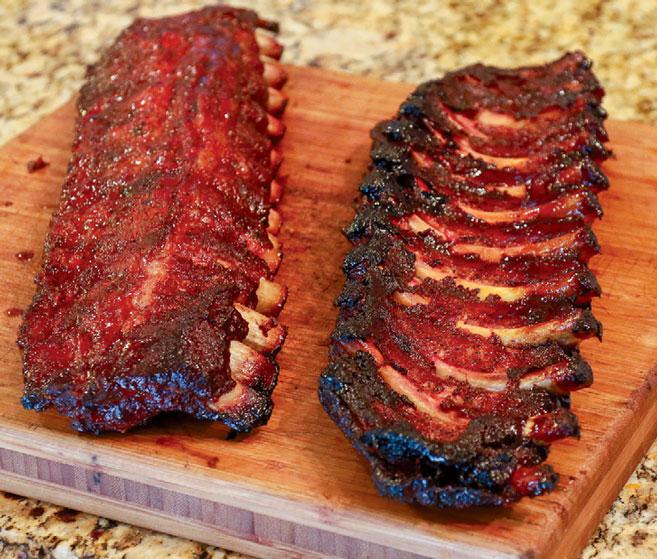 Smoked Pork Ribs Edible Tulsa
