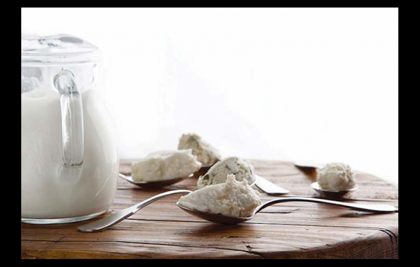 Goat milk and goat cheese