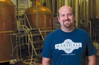 Eric Marshall at Marshall Brewing Company