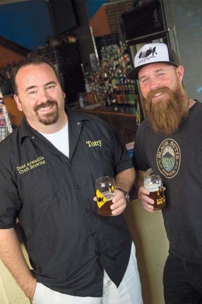 Dead Armadillo Brewing's Tony Peck and Mason Beecroft