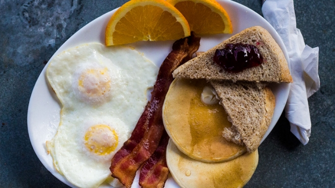 The Sunrise Breakfast at CHOCS