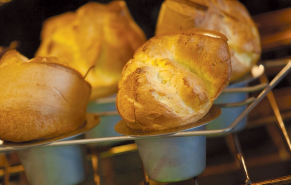 Jeff's Incredible Popovers baking