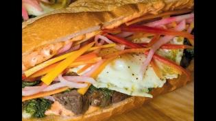 Springtime Lamb Banh Mi Sandwiches